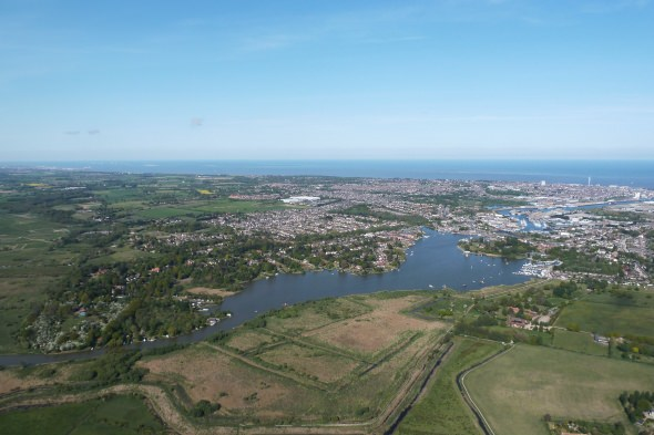 Aerial View of Lowestoft